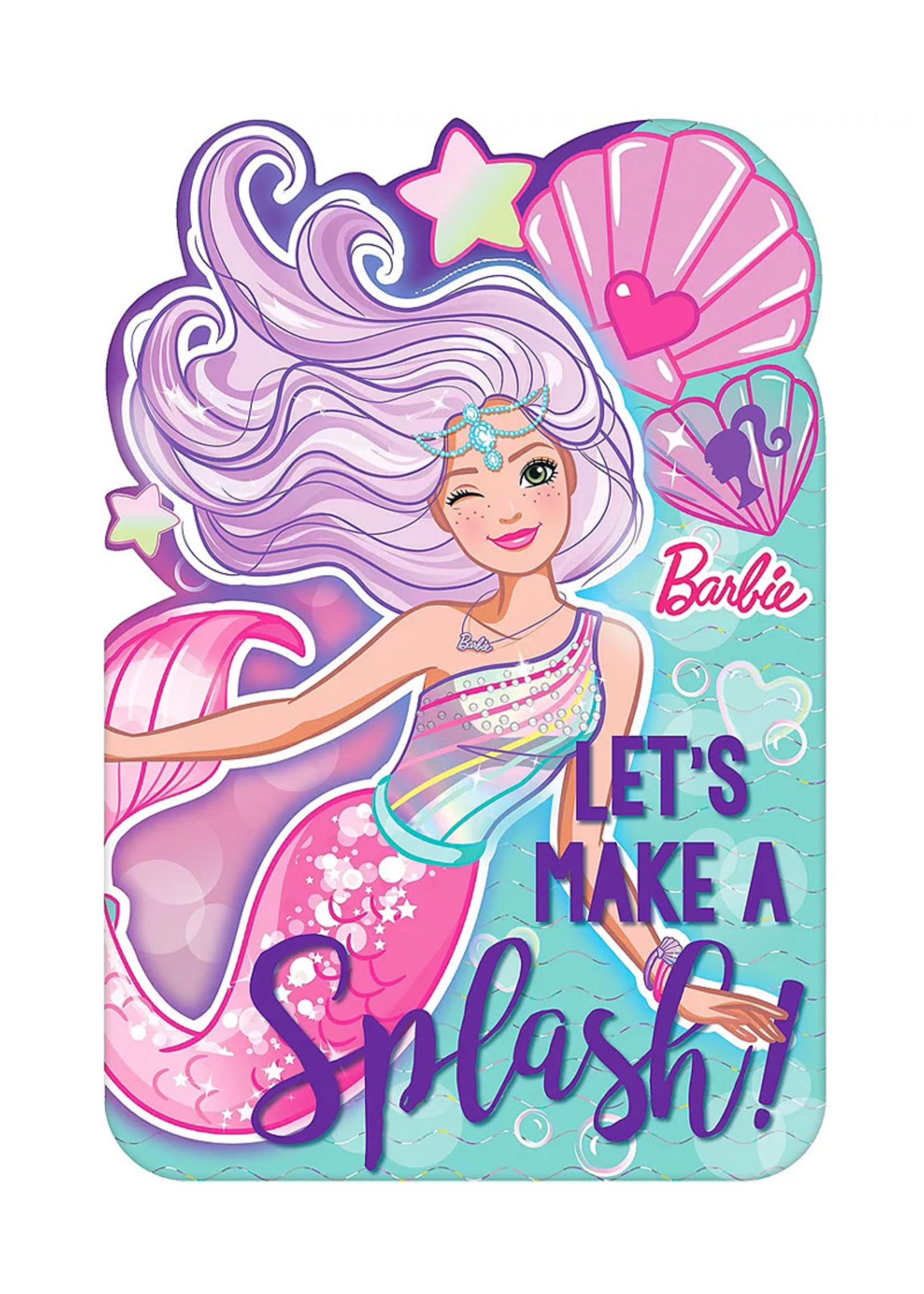 Barbie Mermaid Invitations 8ct