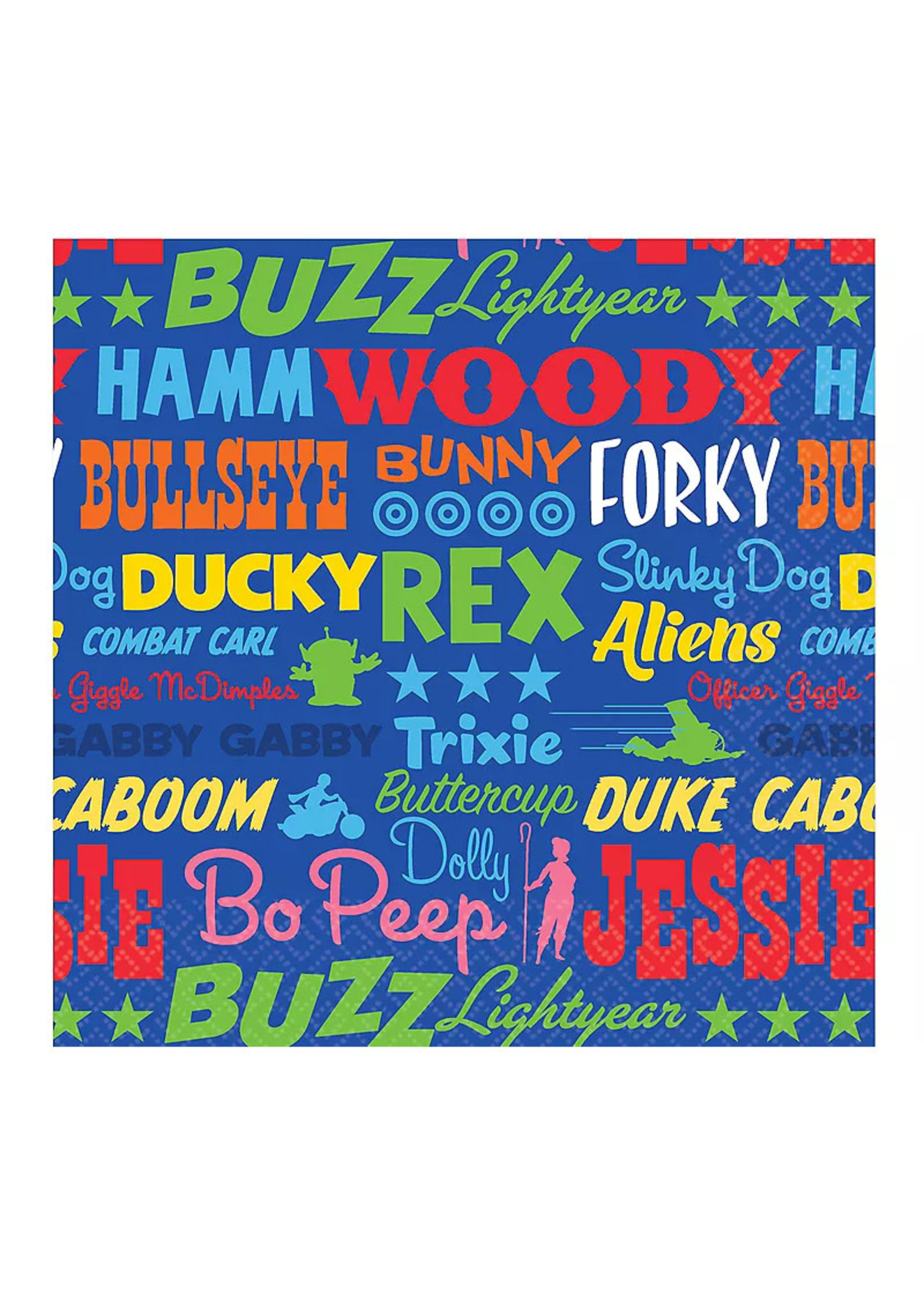 Toy Story 4 Beverage Napkins 16ct