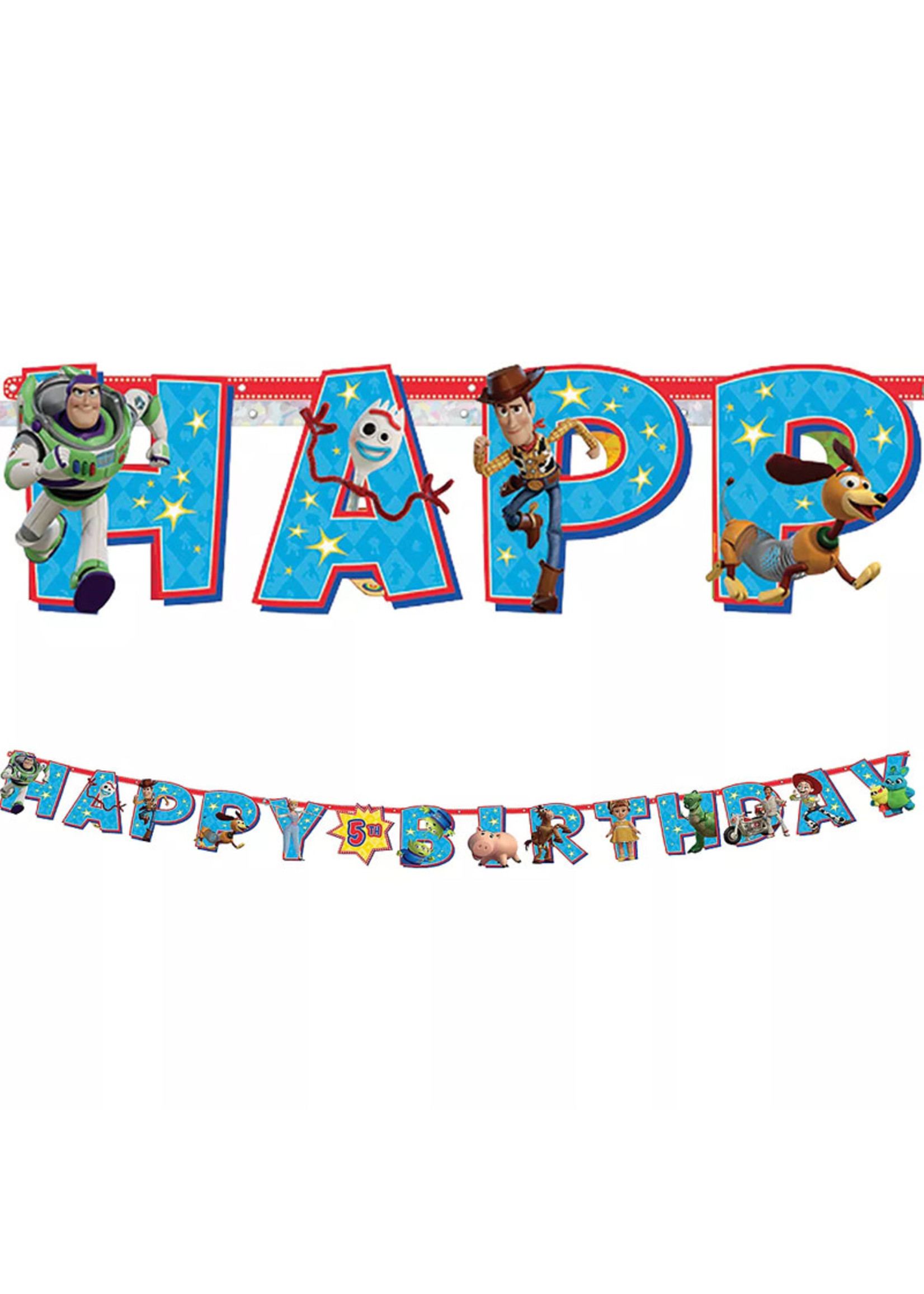 Toy Story 4 Birthday Banner Kit