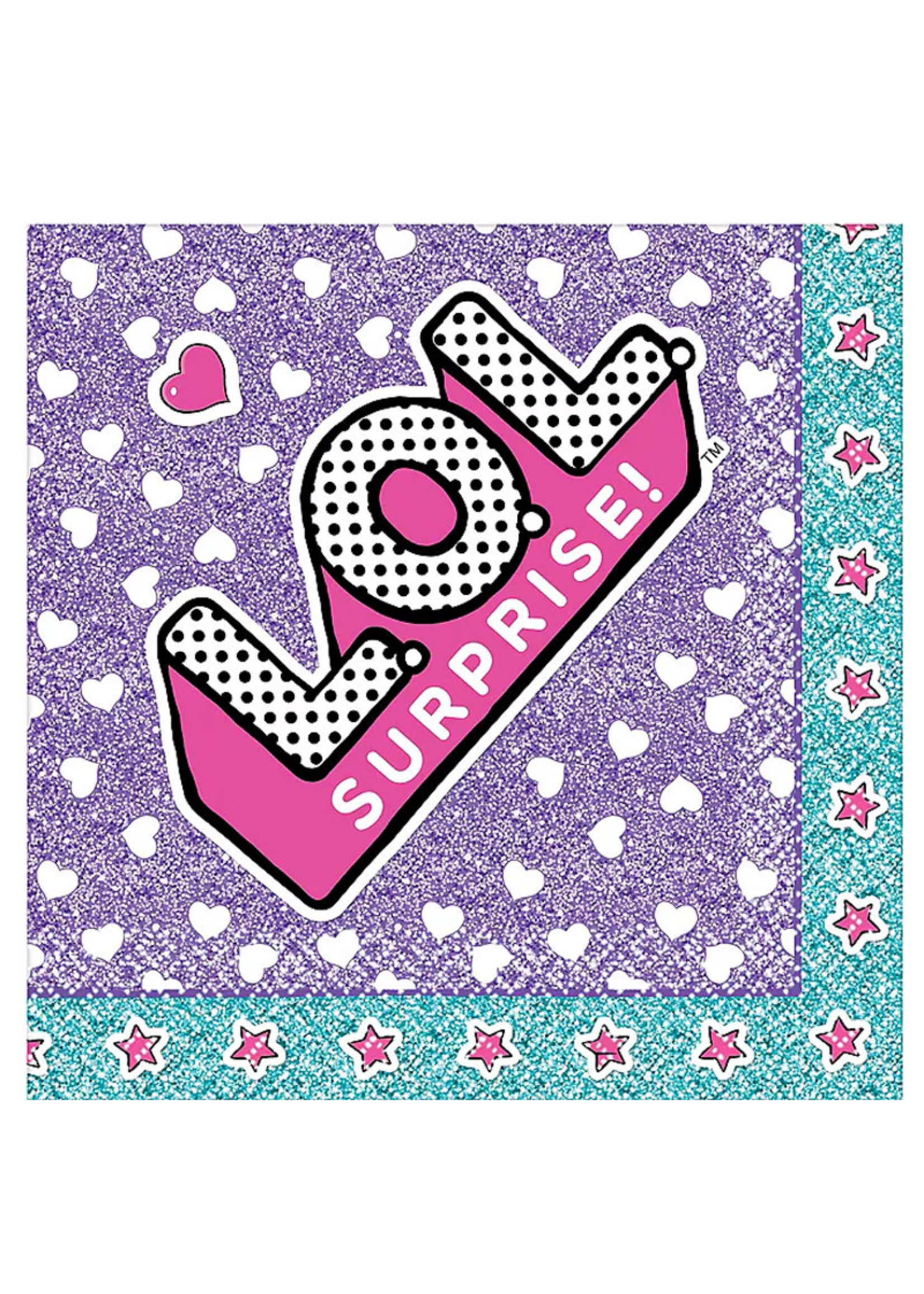 L.O.L. Surprise! Beverage Napkins 16ct