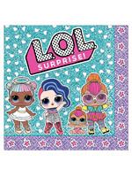 L.O.L. Surprise! Lunch Napkins 16ct