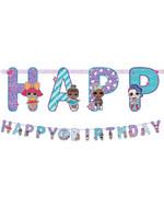 L.O.L. Surprise! Birthday Banner Kit