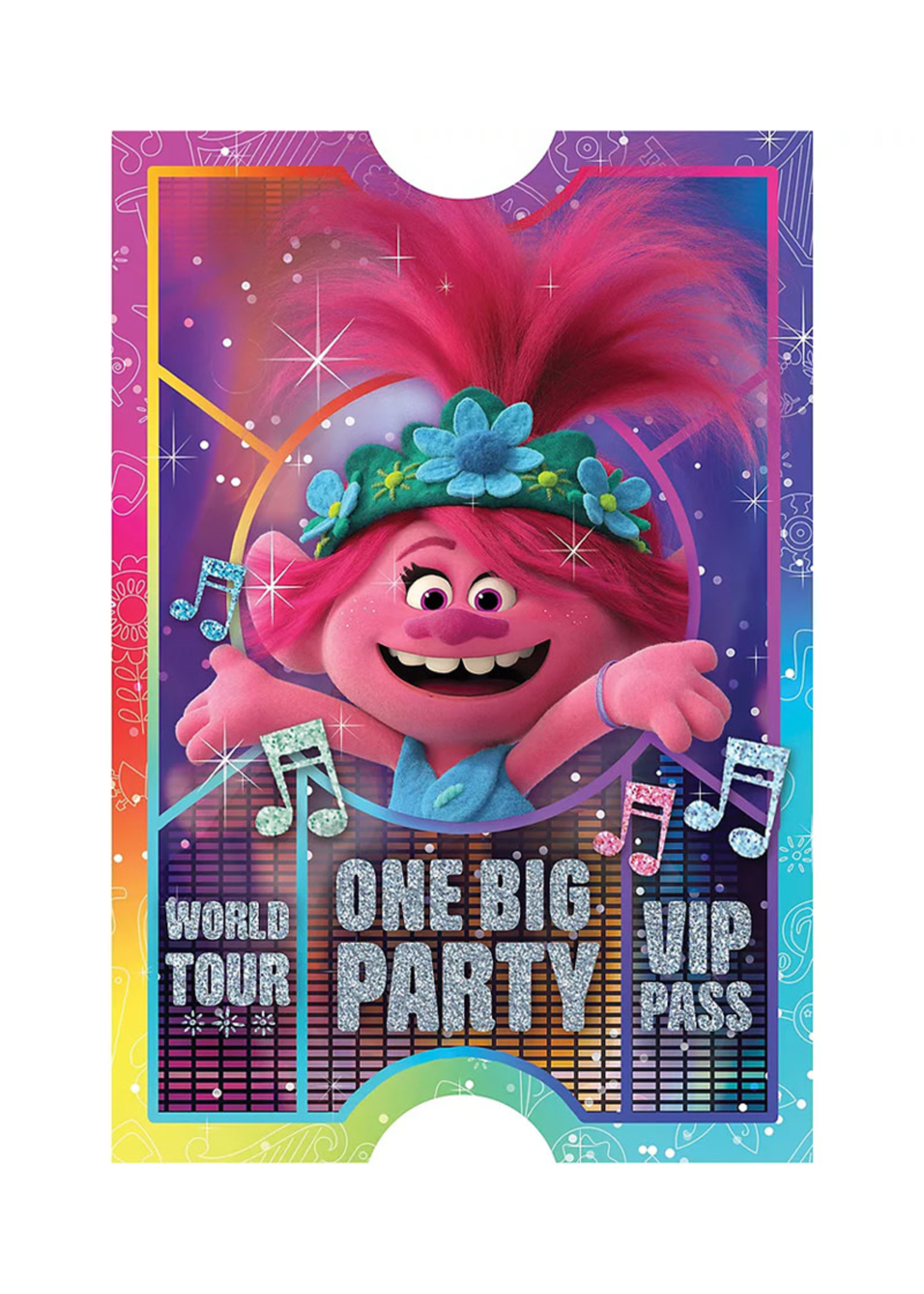 Trolls World Tour Invitations 8ct