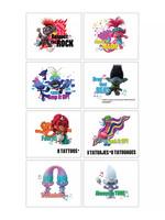 Metallic Trolls World Tour Tattoos 1 Sheet