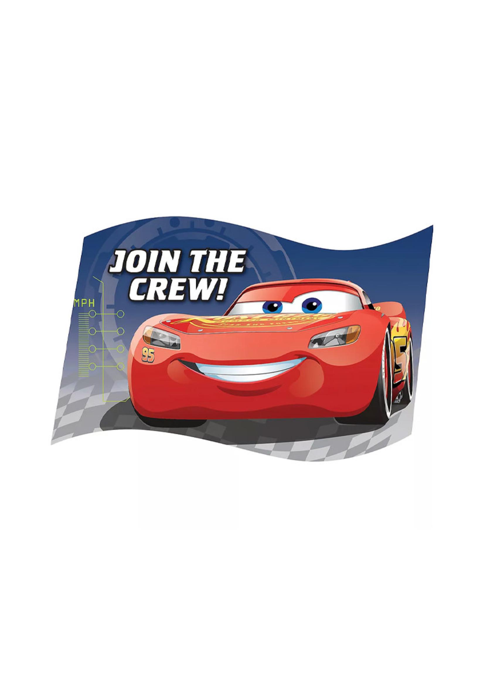 Cars 3 Invitations 8ct
