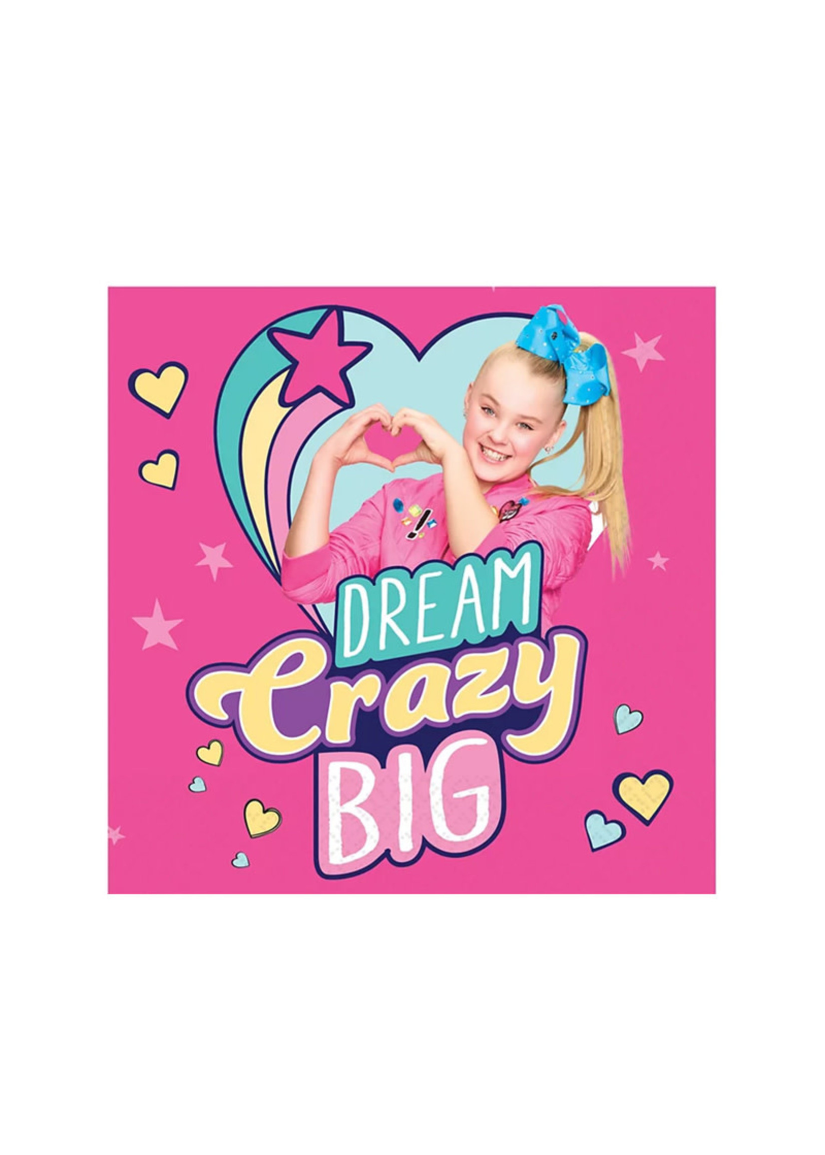 JoJo Siwa Beverage Napkins 16ct
