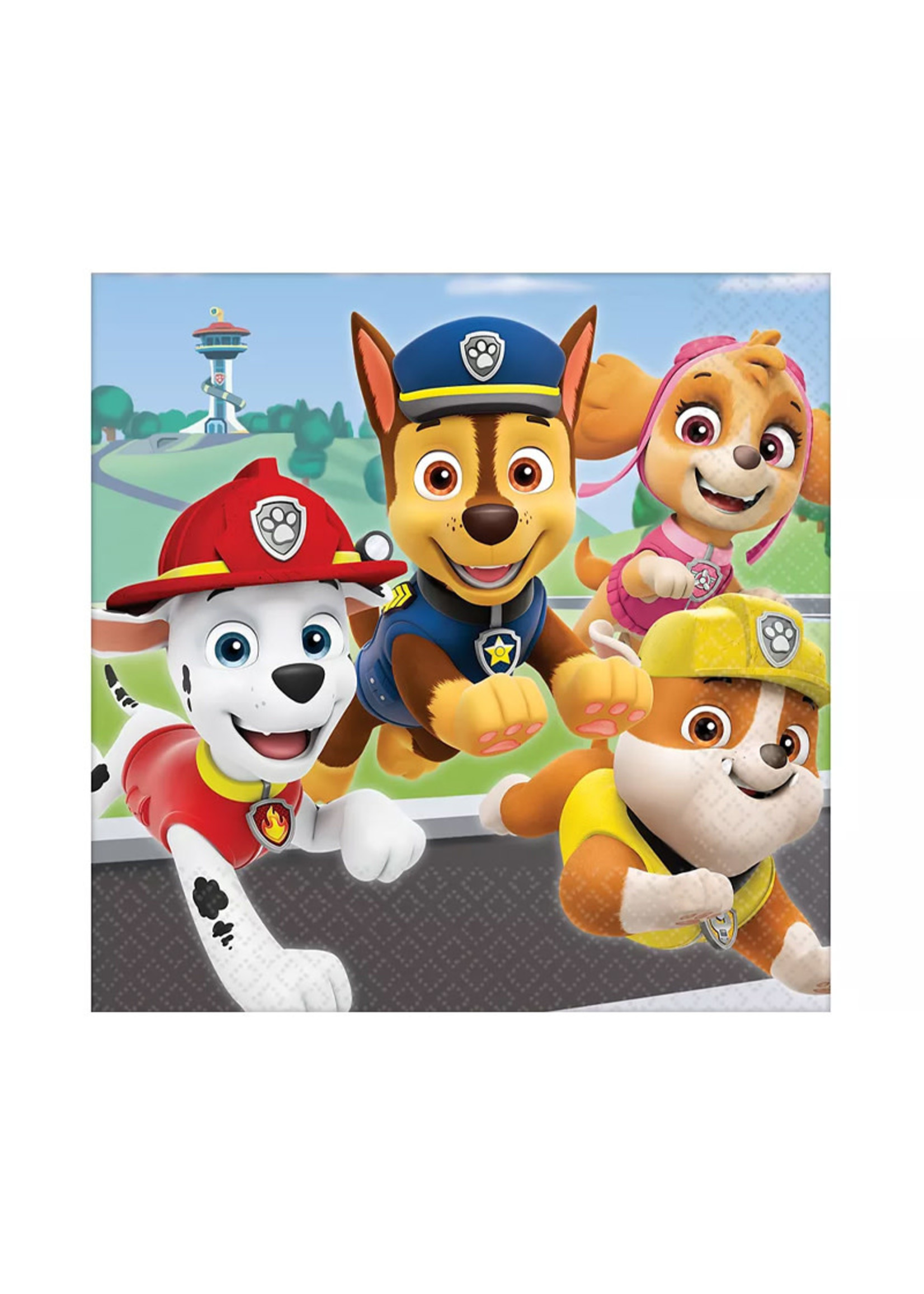 PAW Patrol Adventures Lunch Napkins 16ct