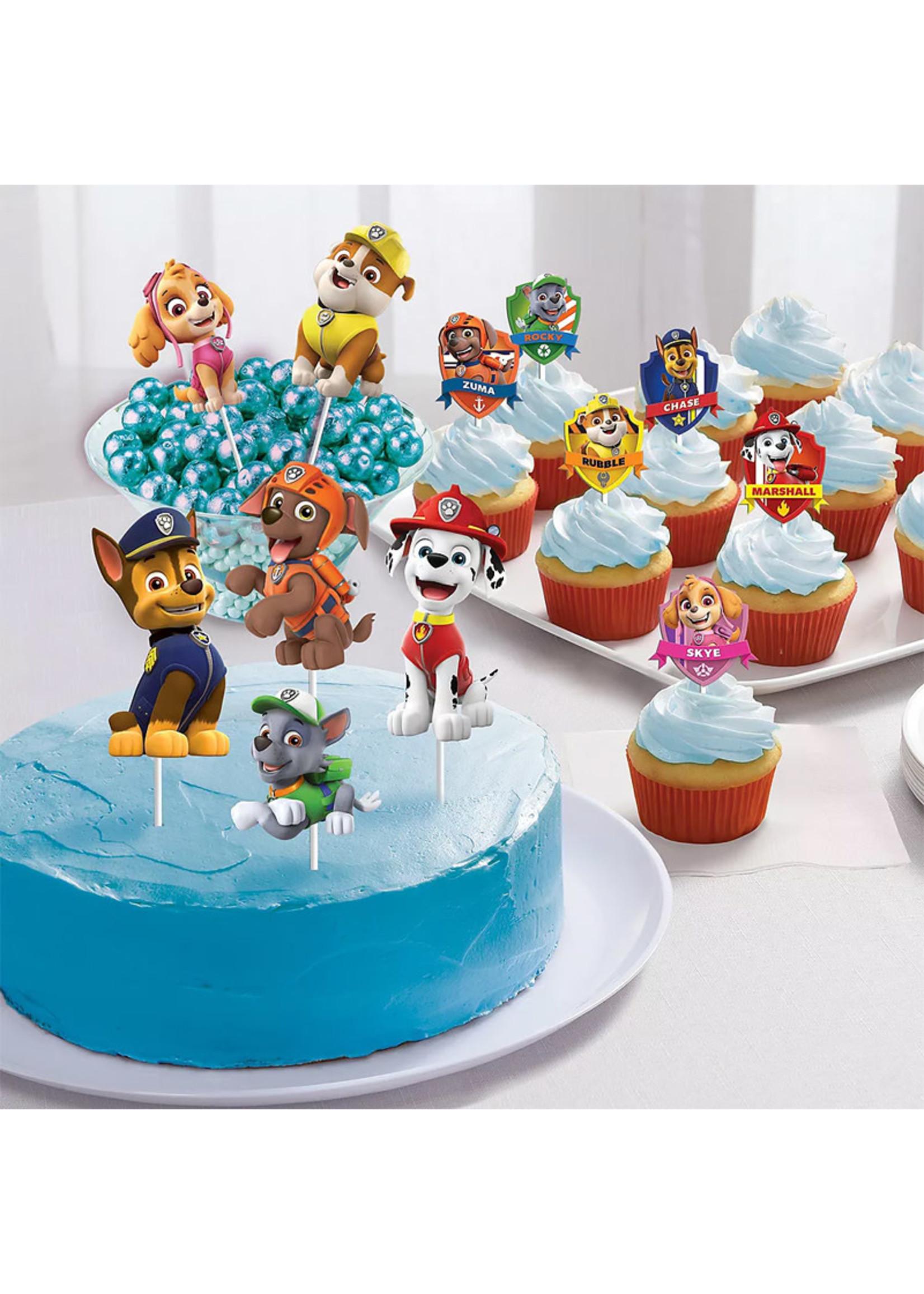 PAW Patrol Adventure Cupcake Picks 6ct