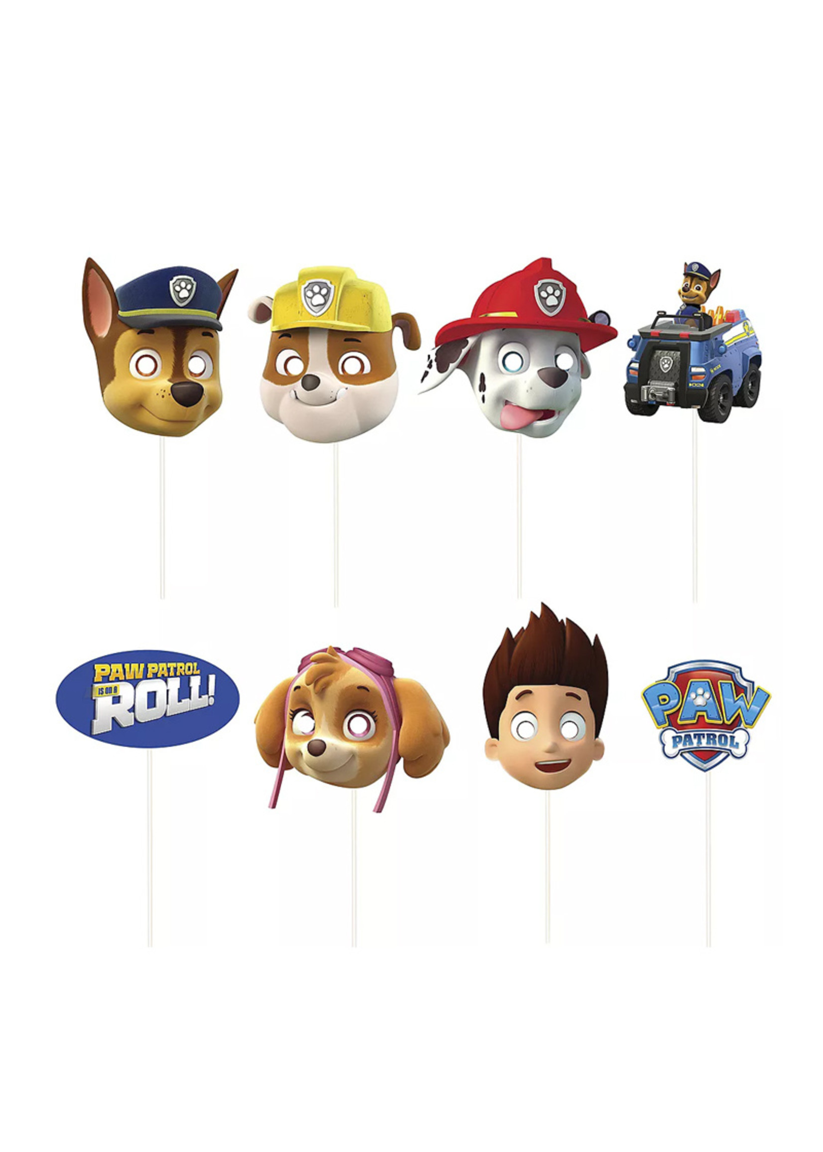 PAW Patrol Scene Setter with Photo Booth Props