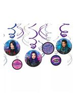 Descendants 3 Swirl Decorations 12ct