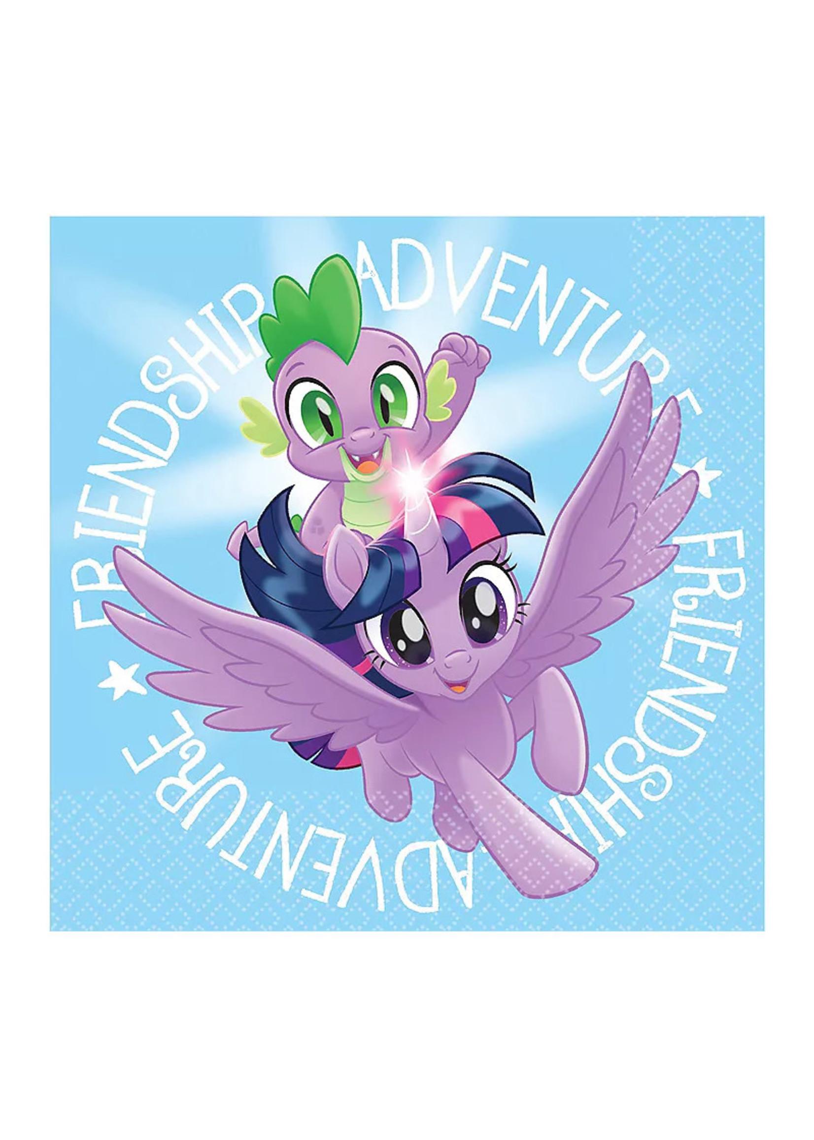 My Little Pony Friendship Adventure Beverage Napkins 16ct