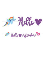 My Little Pony  Glitter Banner