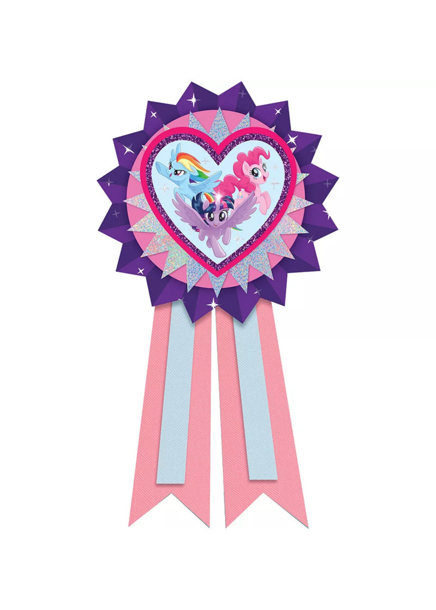 My Little Pony  Pink & Purple Award Ribbon