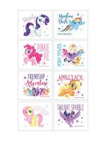 Pony Power My Little Pony Tattoos 1 Sheet