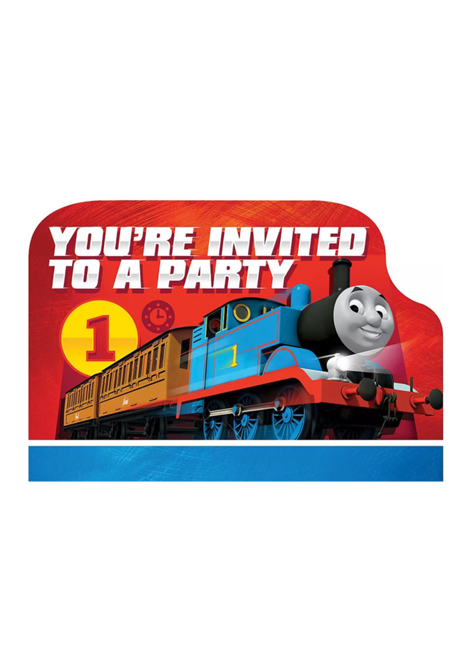 Thomas the Tank Engine Invitations 8ct