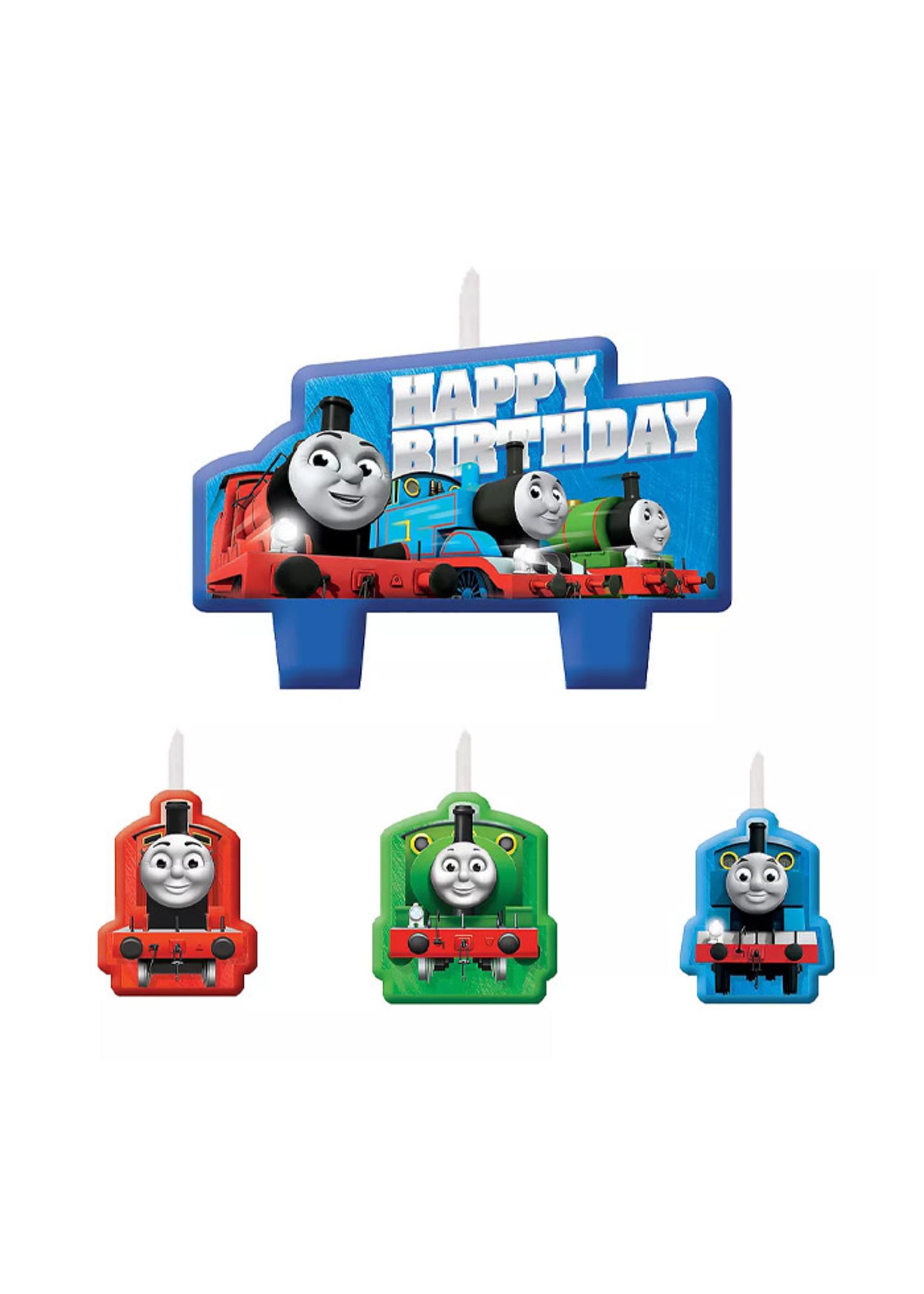 Thomas the Tank Engine Birthday Candles 4ct