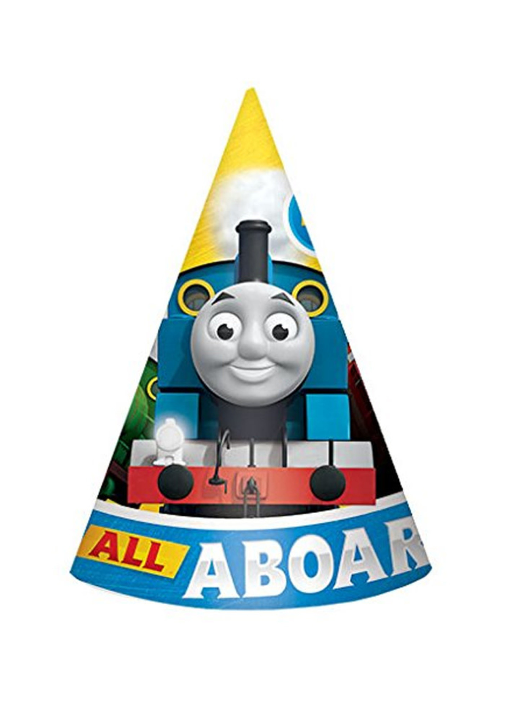 Thomas All Aboard Paper Cone Hats