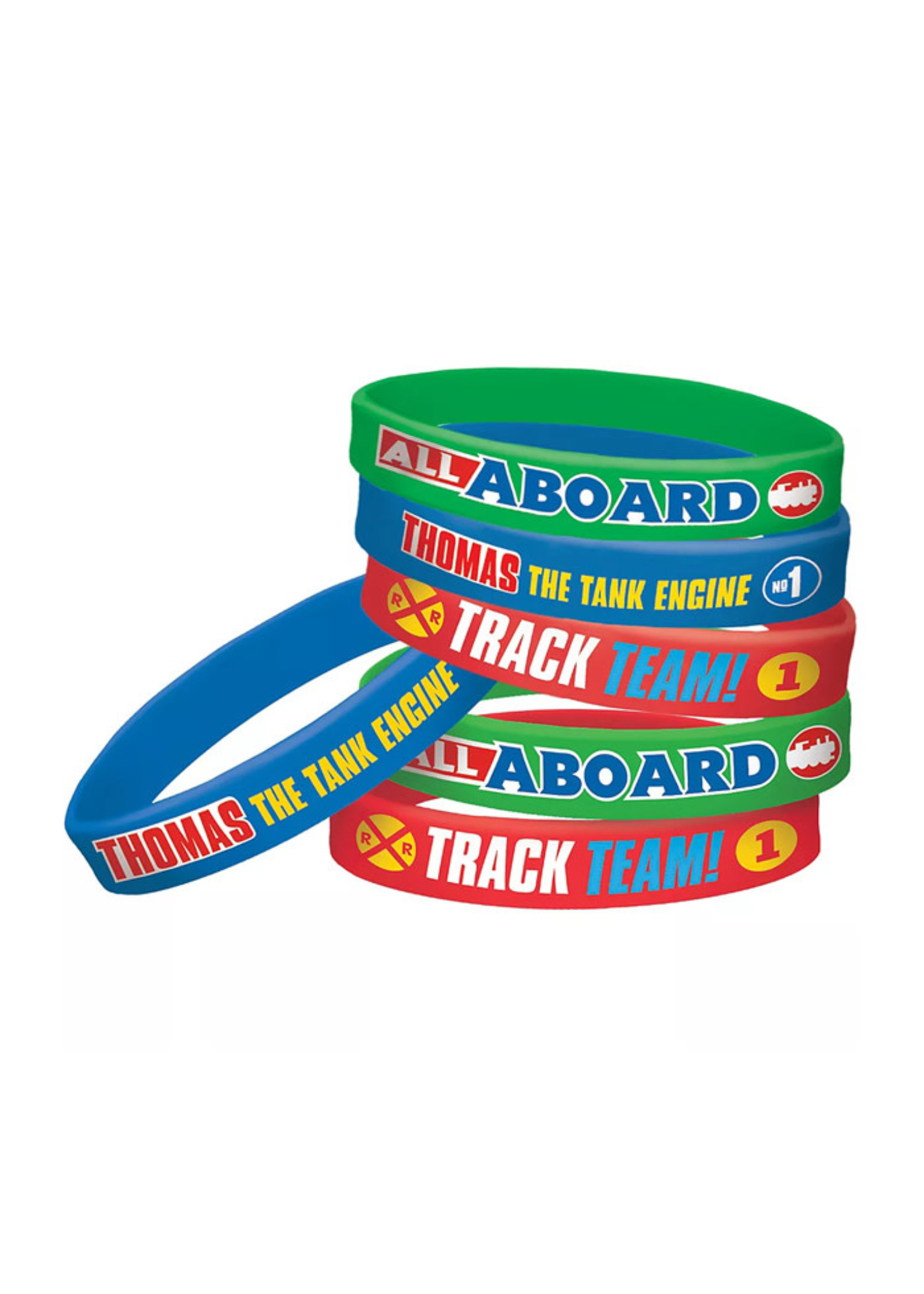 Thomas the Tank Engine Wristbands 6ct