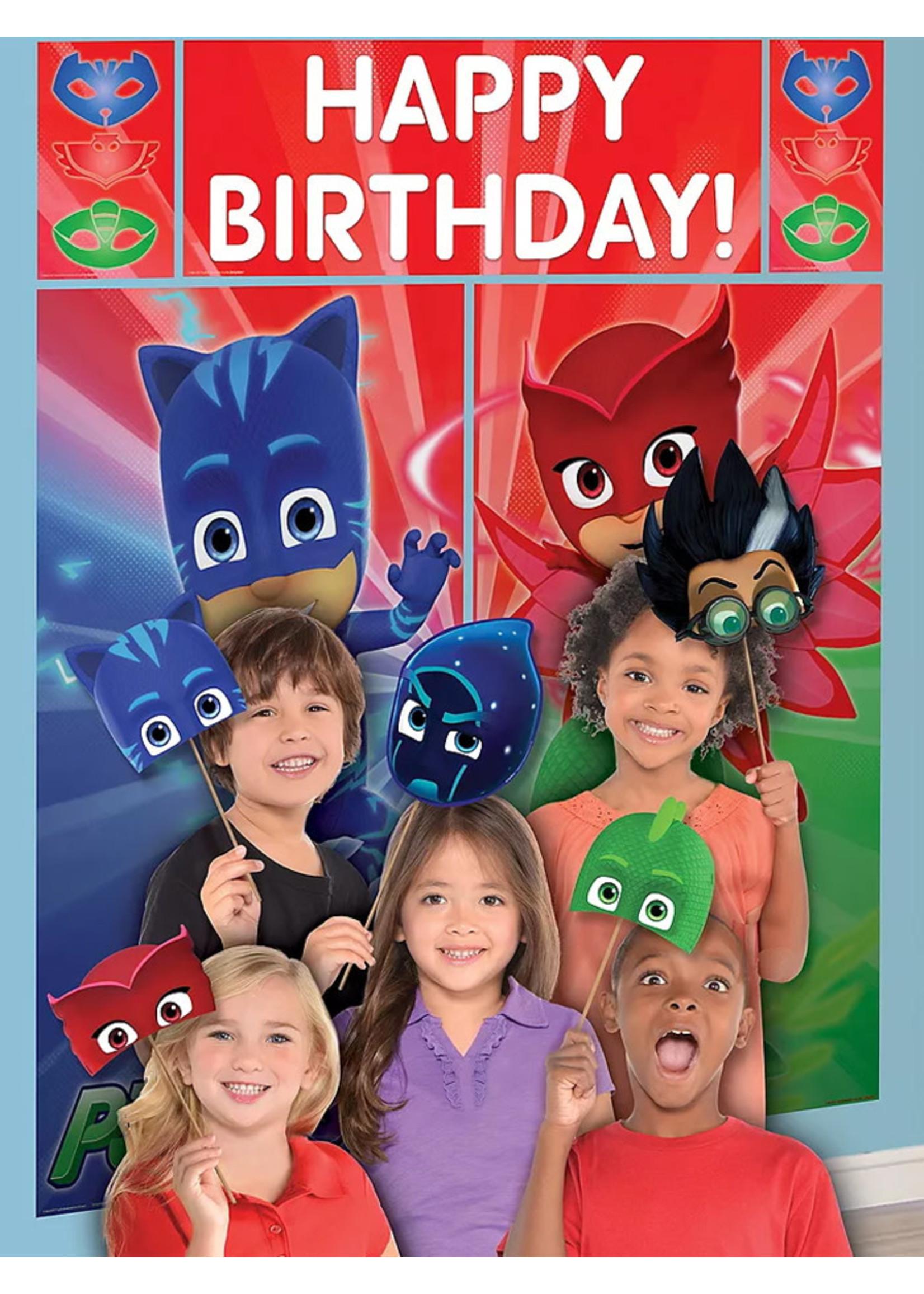 PJ Masks Photo Booth Kit 17pc