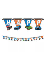 Hot Wheels Birthday Banner Kit