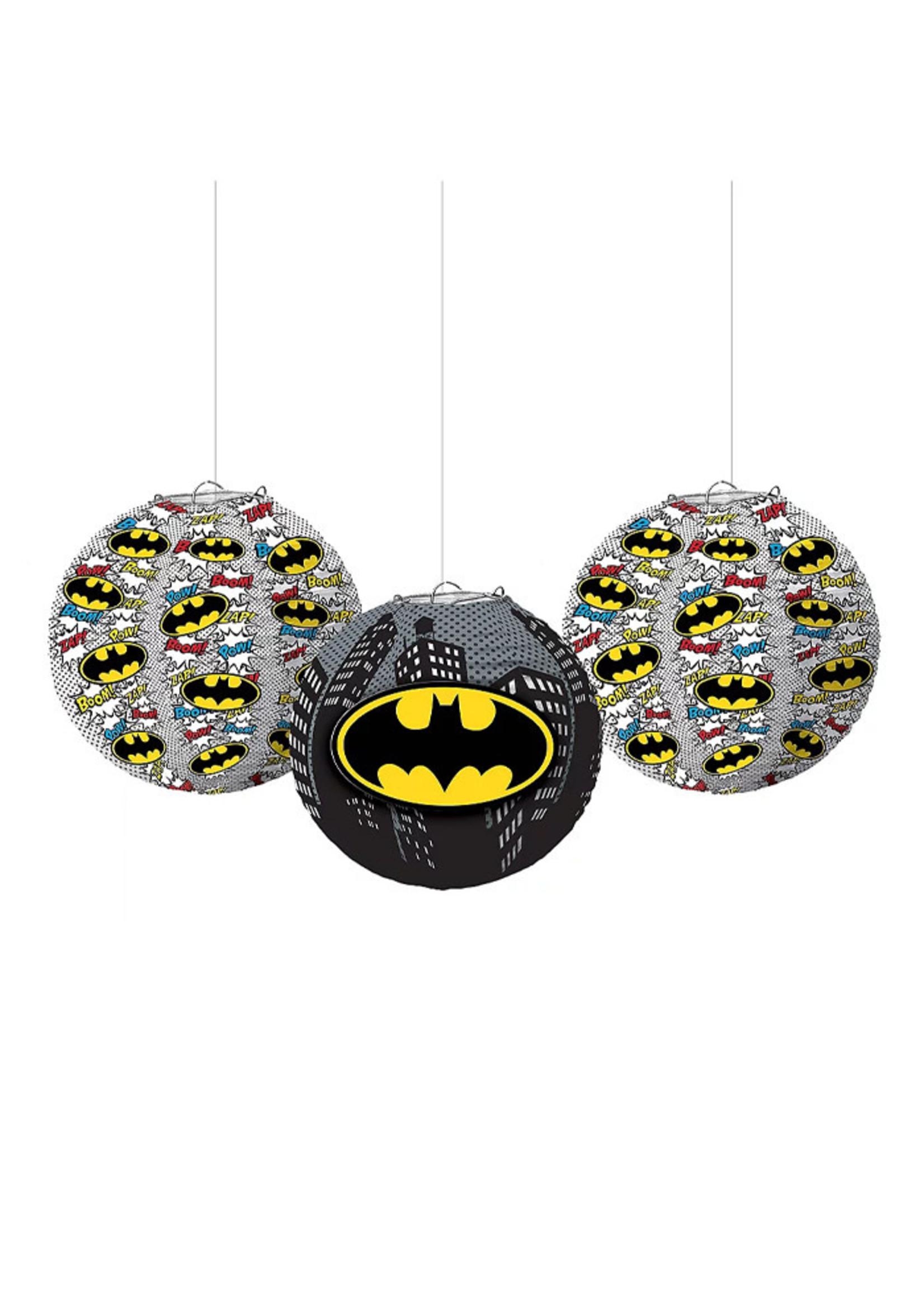 Batman Paper Lanterns 3ct