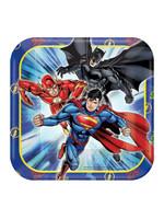 Justice League Dessert Plates - 8ct