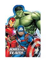 Marvel Epic Avengers Invitations - 8ct