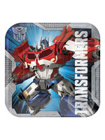 Transformers Luncheon Plates - 8ct