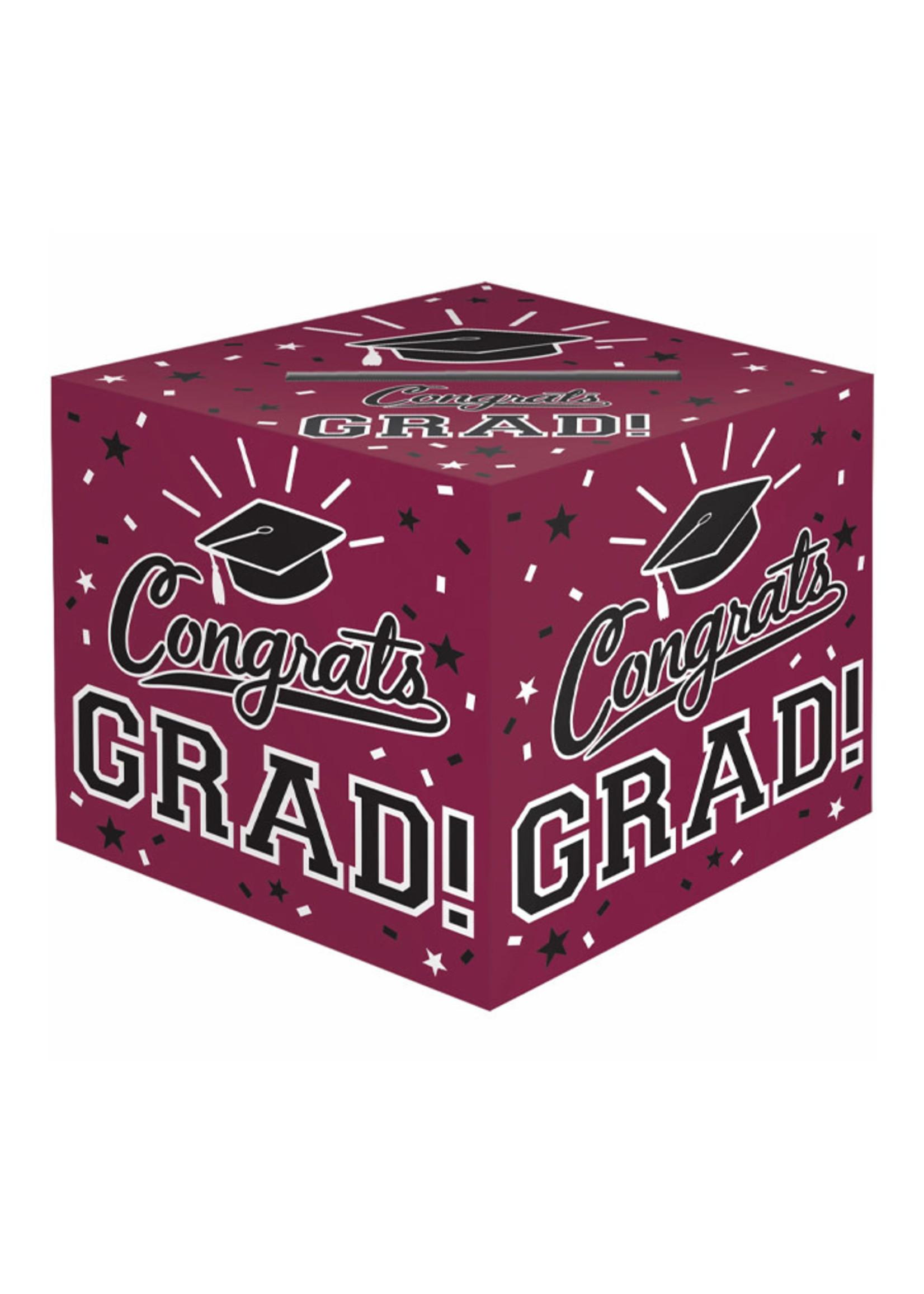 Cardholder Box Grad - Burgundy