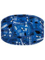 Blue Grad Platter - 18in