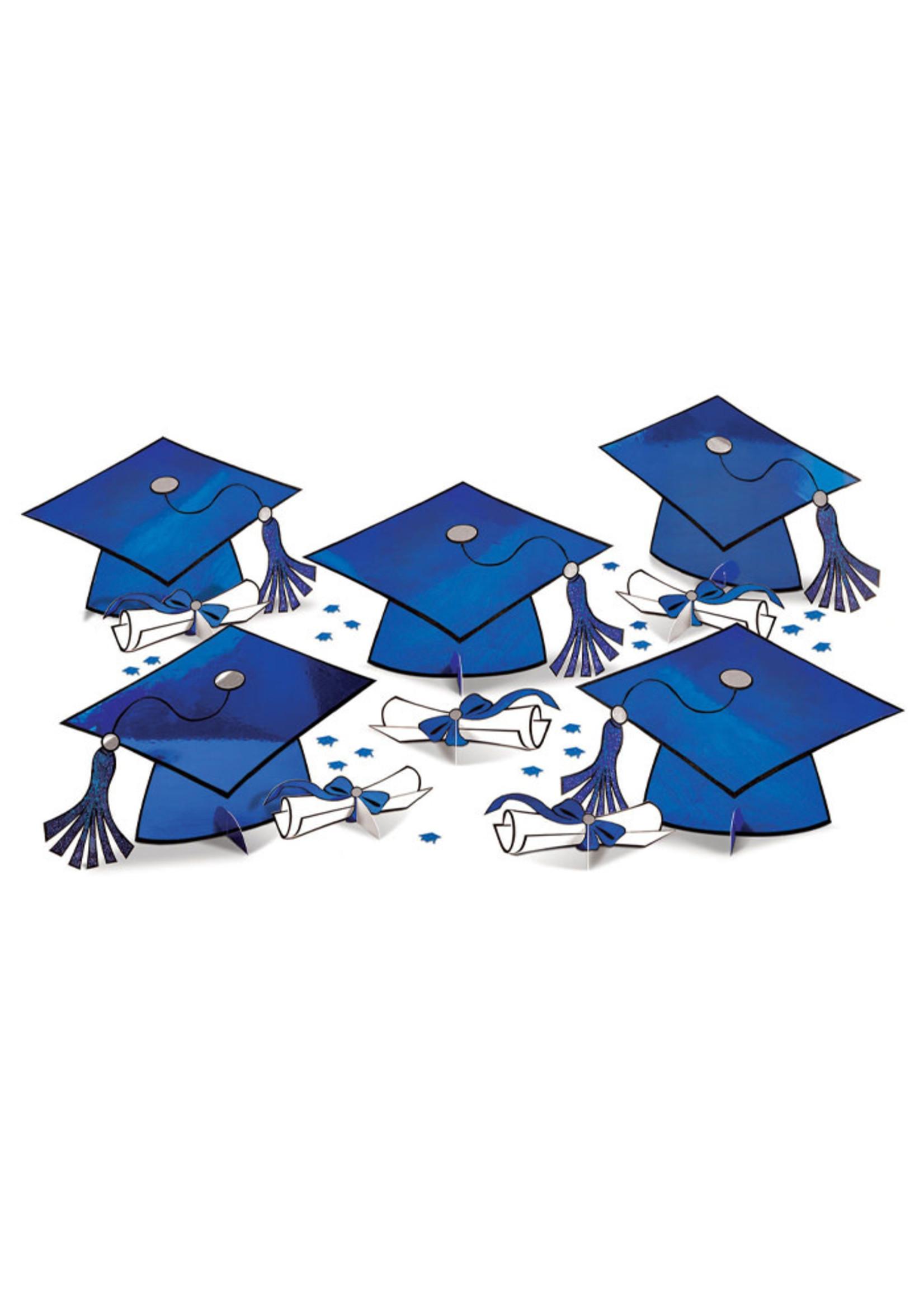 Graduation Table Decorating Kit - Blue