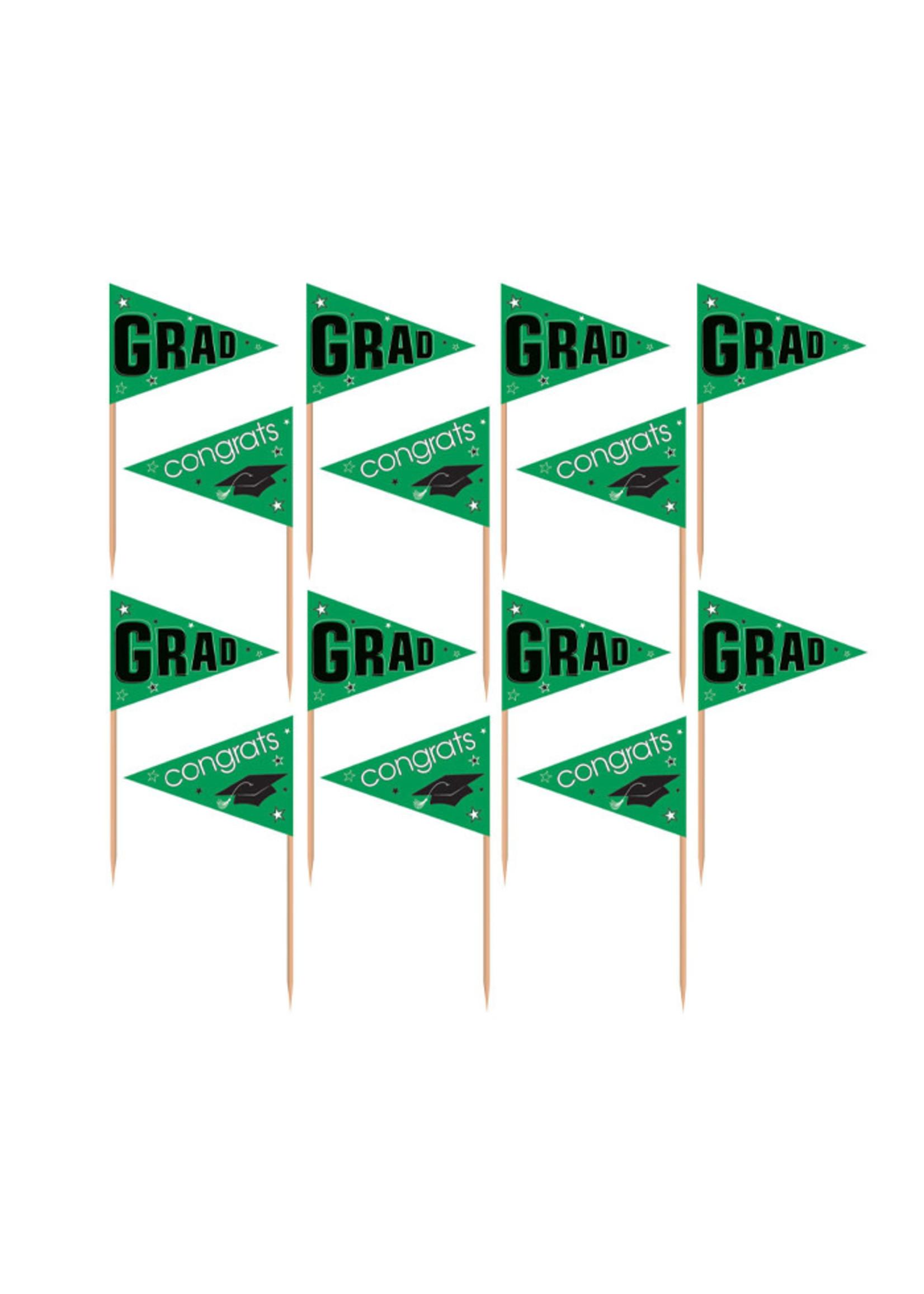 Green Pride Party Picks - 36ct