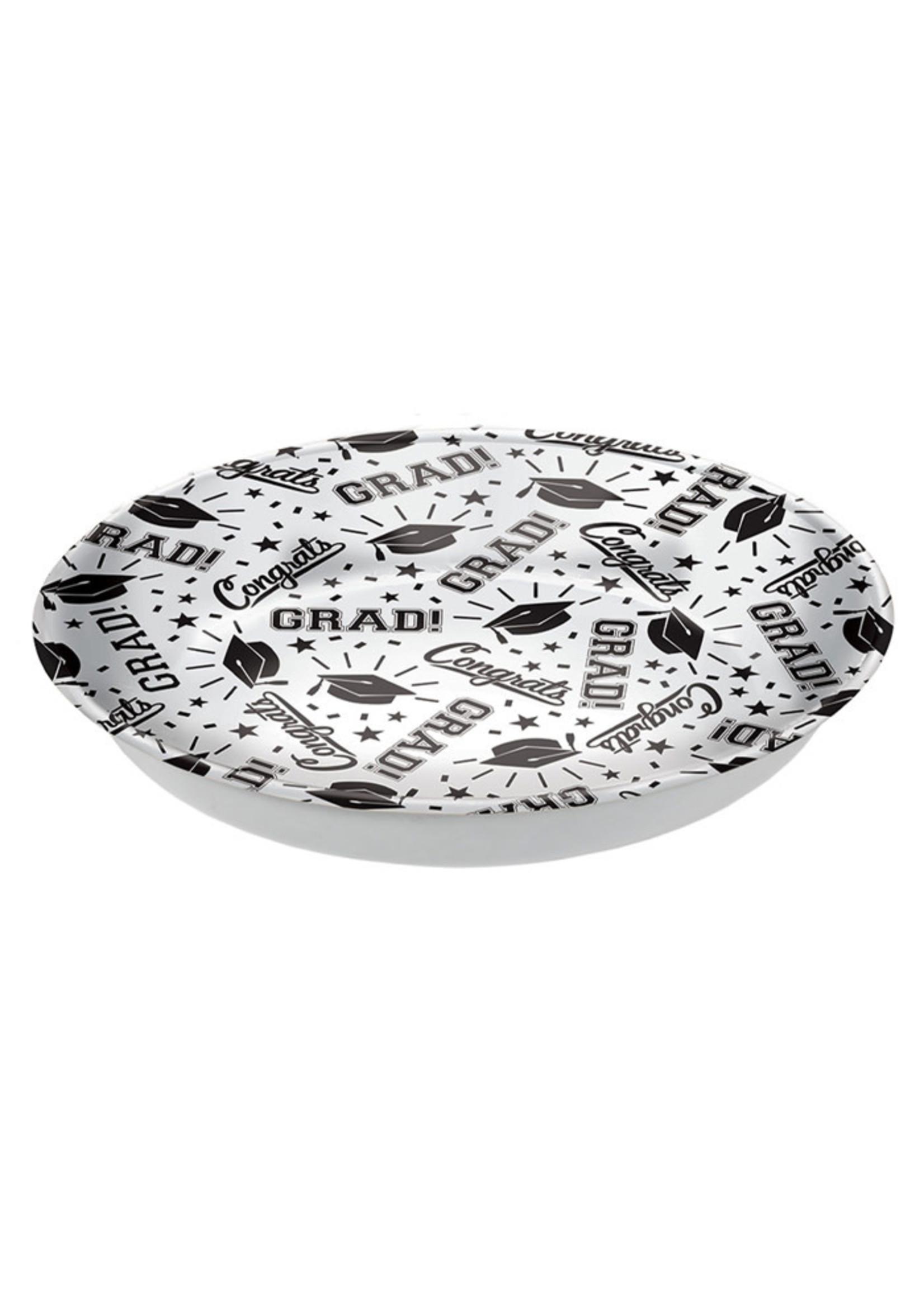 Grad Plastic Bowl - White