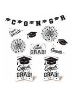 Grad Room Decorating Kit - White