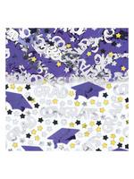 Embossed Metallic Confetti - Purple