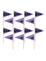 Purple Pride Party Picks - 36ct