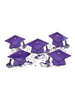 Purple Graduation Table Decorating Kit