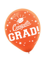 Orange Grad Latex Balloons  - 15ct