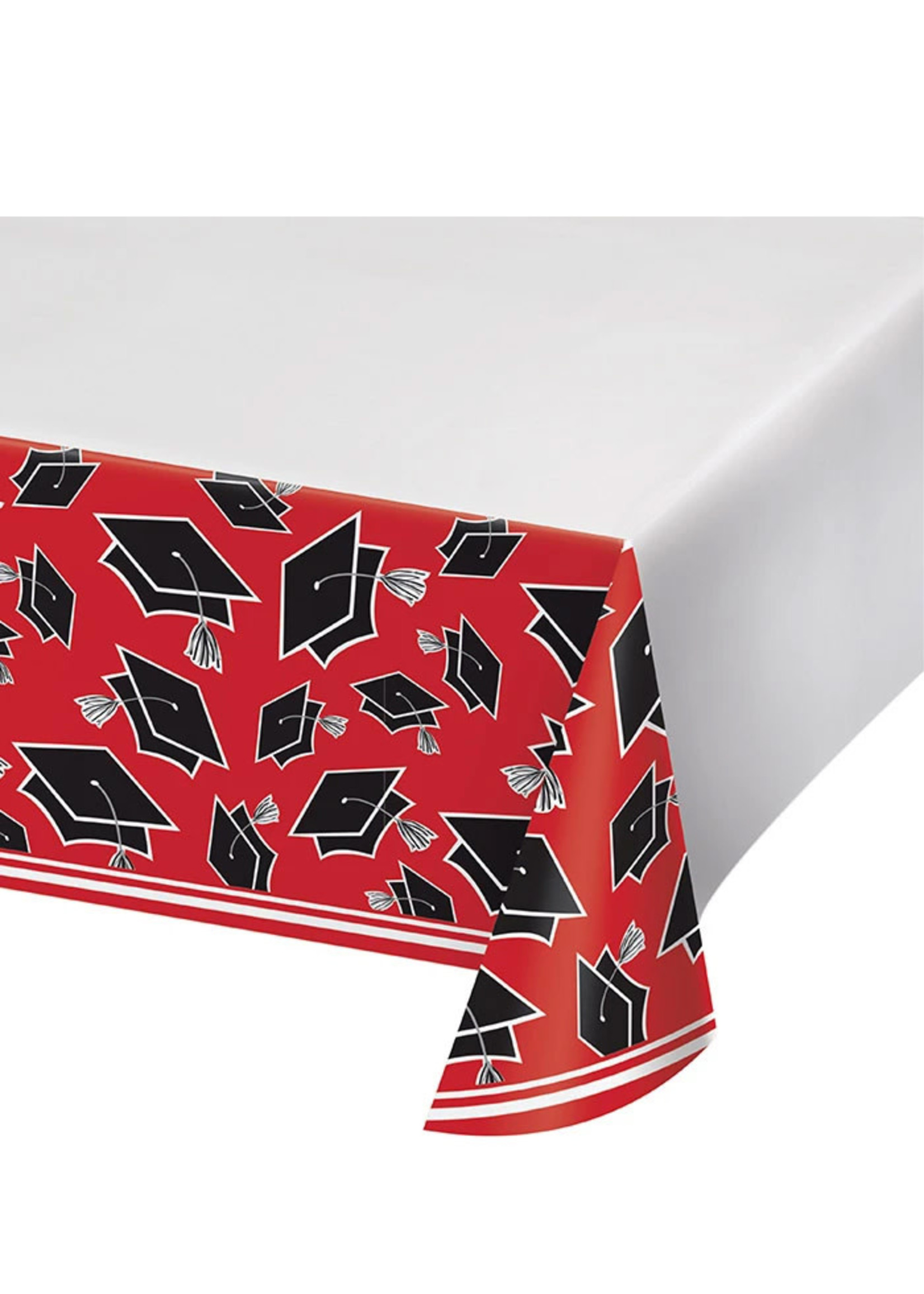 Creative Converting Red Grad Tablecover