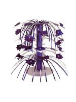 Creative Converting Purple Mortarboard Graduation Centerpiece