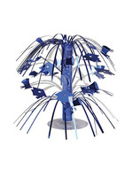 Creative Converting Blue Mortarboard Graduation Centerpiece