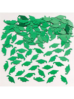 Creative Converting Green Mortarboard Graduation Confetti - 0.5 oz