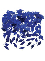Creative Converting Blue Mortarboards Graduation Confetti - 0.5 oz