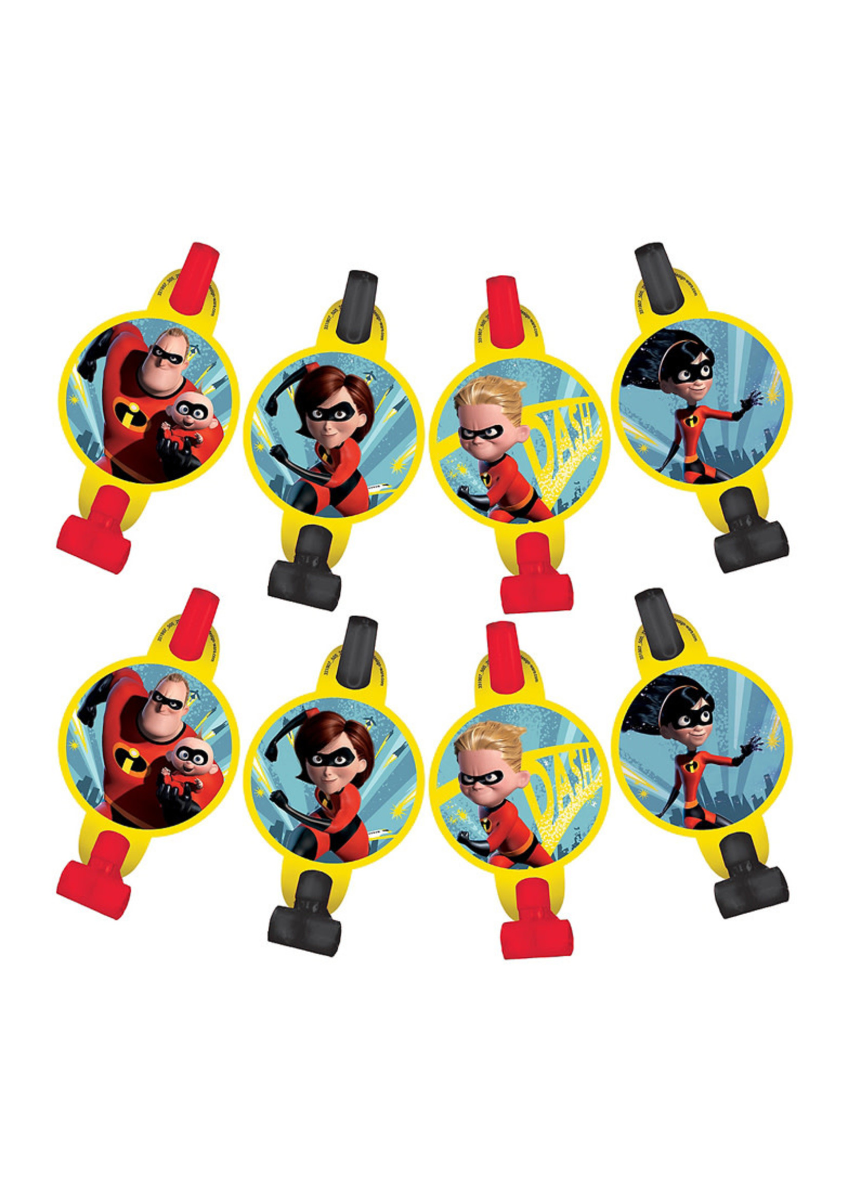 Incredibles 2 Blowouts 8ct