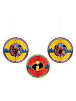Incredibles 2 Honeycomb Balls 3ct