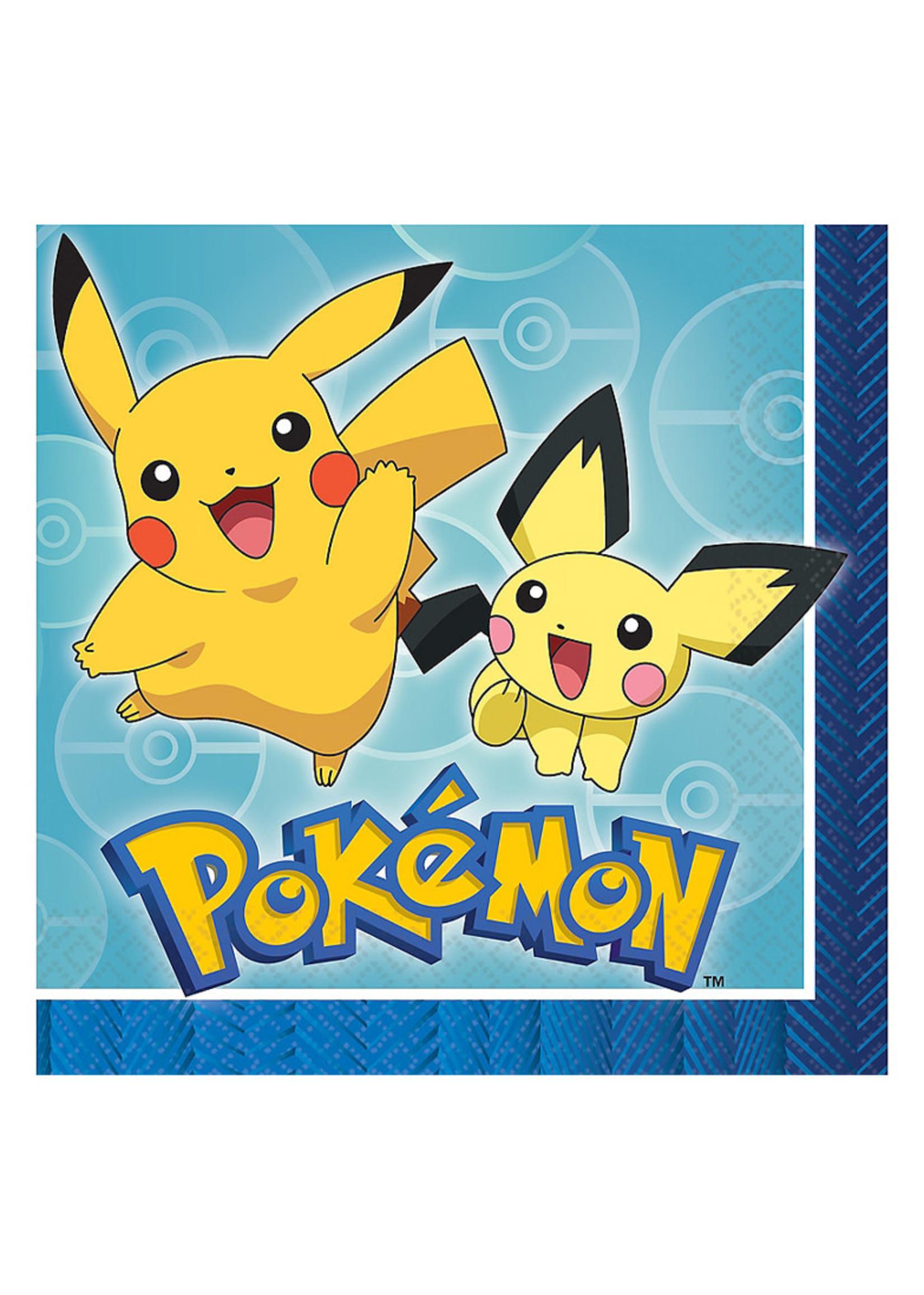 Pokémon Core Lunch Napkins 16ct