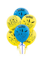 Classic Pokémon Balloons 6ct
