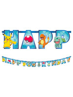 Classic Pokémon Birthday Banner