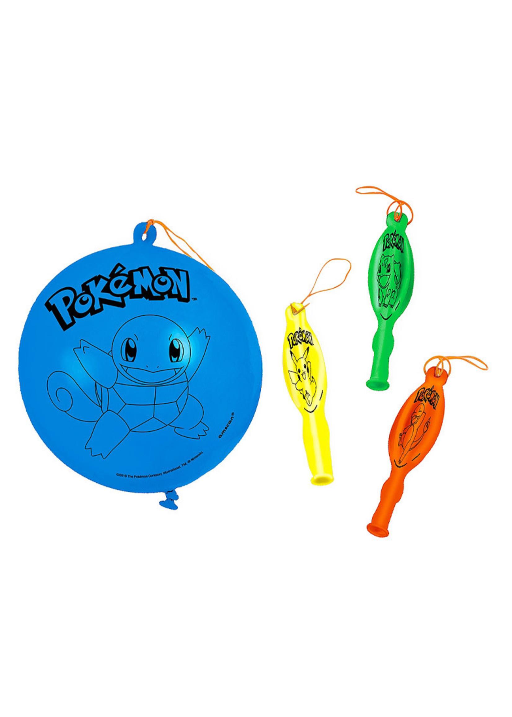 Classic Pokémon Punch Balloons 4ct