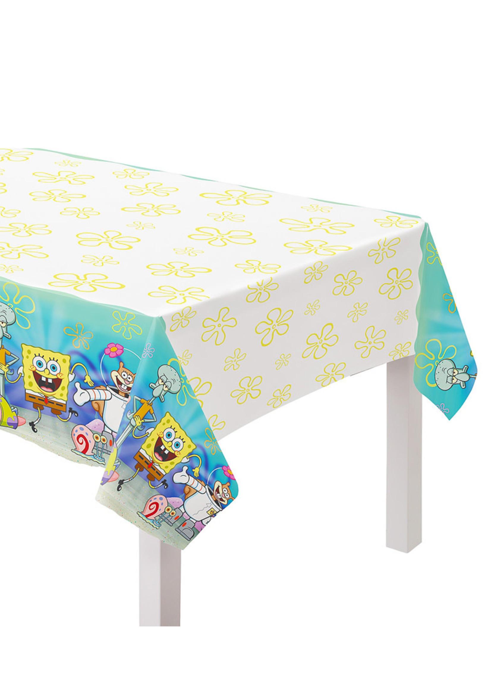 SpongeBob SquarePants Paper Table Cover, 54in x 96in